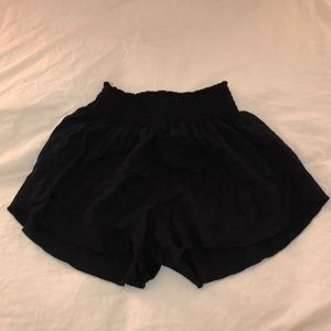 Brandy Melville black flowy shorts